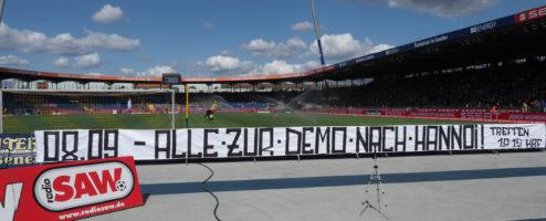Demo gegen das neue Polizeigesetz in Hannover