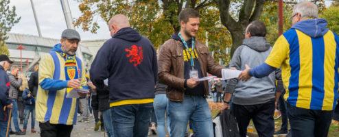 Überwachung im Eintracht Stadion Die Polizei entzieht sich dem Dialog mit den Fans
