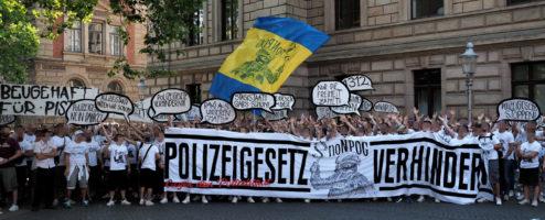 Demo gegen das neue Polizeigesetz