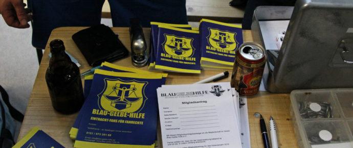 Die Blau-Gelbe-Hilfe startet durch
