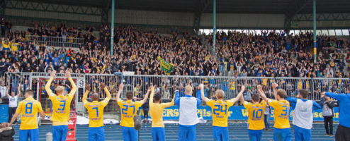 Heimspiel gegen Nürnberg am 30.04.2016