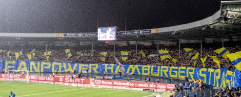 Bericht der Blau-Gelben Hilfe zu der neuen Einlasssituation im Eintracht-Stadion