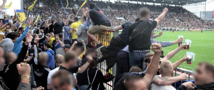 St. Pauli gegen Eintracht Braunschweig am 13.08.2016